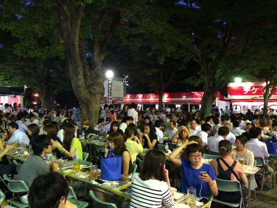 Beer Festival - Picture Of Odori Park  Sapporo