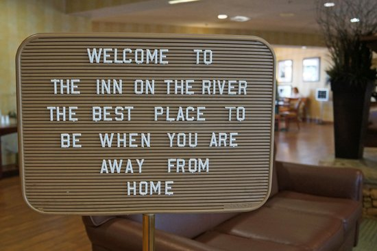 The Inn On The River : Welcome