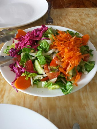 Turkish Diwan Restaurant: Turkish Diwan's Arabic salad; healthy and delicious.
