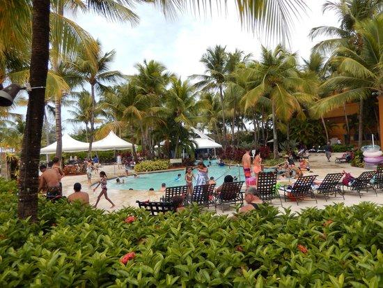 Courtyard by Marriott Isla Verde Beach Resort: Adult/ deeper side of pool