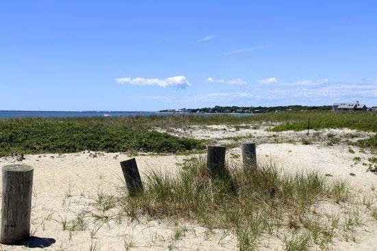 Kalmus Beach: Sand Dunes from the Parking Lot