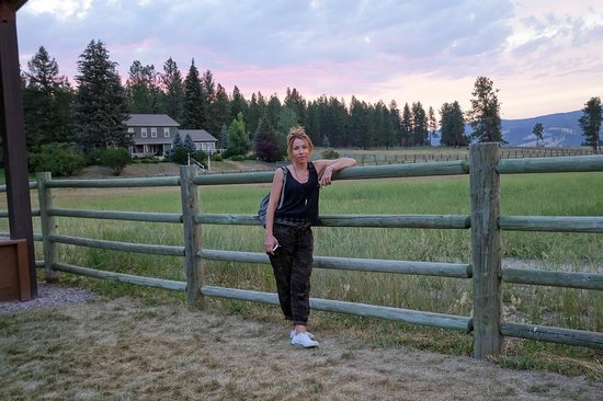 The Resort at Paws Up: A Leisurely Walk After Dinner