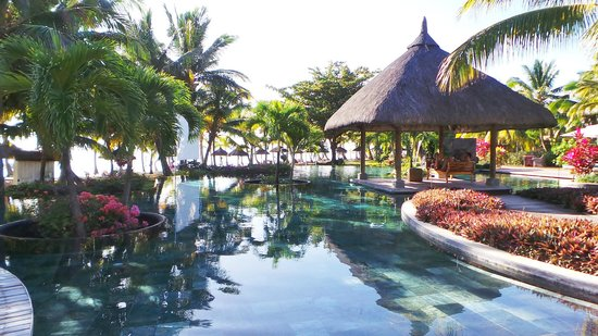 LUX* Le Morne: View of one of the pools