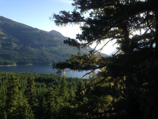 Strathcona Park Lodge & Outdoor Education Centre: View from Strathcona Park Lodge trail