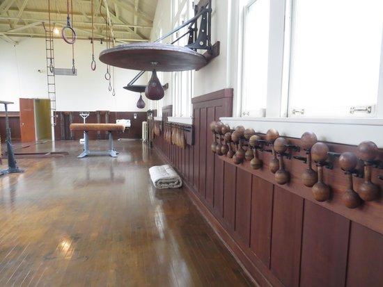 Fordyce Bathhouse (Vistor Center): Gymnasium