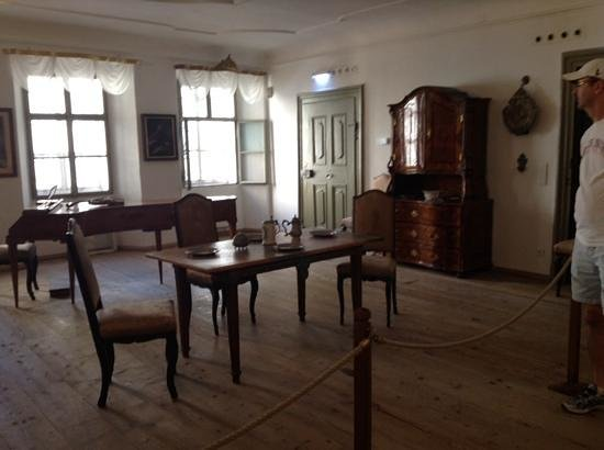 Mozart's Birthplace : one of the rooms