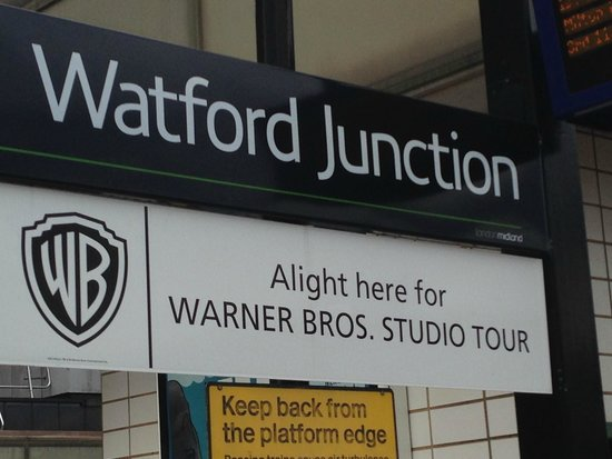 Warner Bros. Studio Tour London - The Making of Harry Potter: Watford Junction Station
