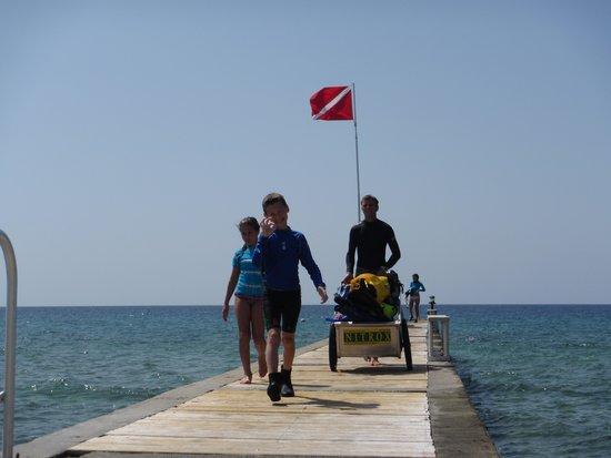 Cobalt Coast Grand Cayman Resort: Great dock