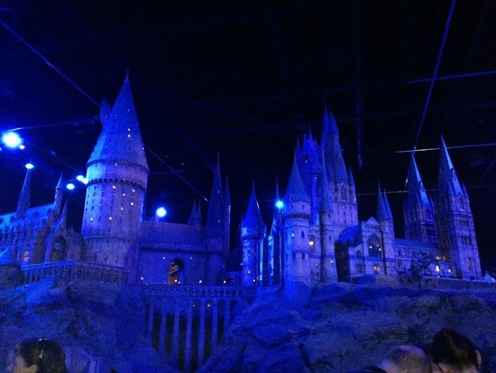 Warner Bros. Studio Tour London - The Making of Harry Potter: Model of Hogwarts Castle Used in the Movies