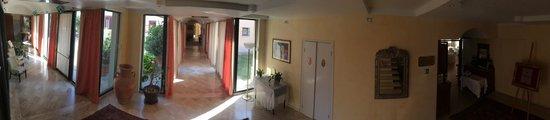 Rodigo, إيطاليا: Panoramica all'interno della Villa