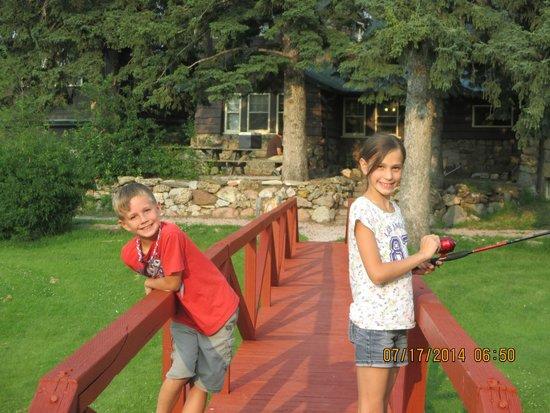 Calamity Peak Lodge: Outside main house at Calamity Peak