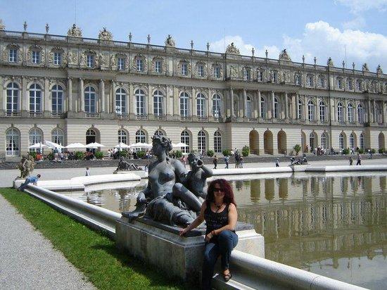 Schloss Herrenchiemsee: Esculturas em mármore