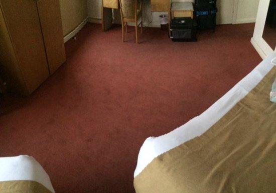Limerick City Hotel: vloerbedekking (vuil)