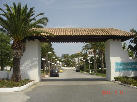Club Marmara Marbella: Entrée du complexe
