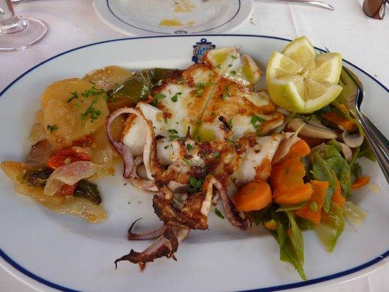 Casa Juan Los Mellizos: Calamars