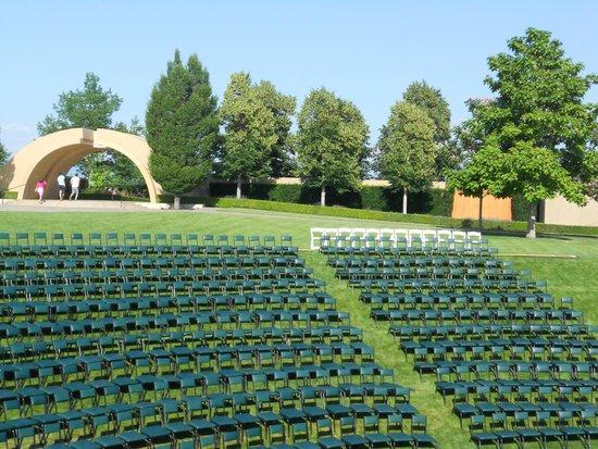 West Kelowna, Canadá: Amphitheatre seating