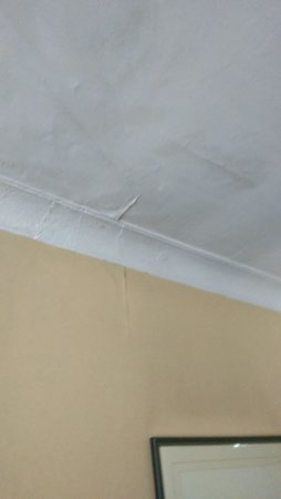 The Stanneylands Hotel: Mouldy ceiling