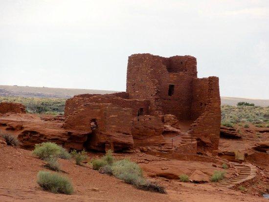 Wupatki National Monument : Wupatki pueblo