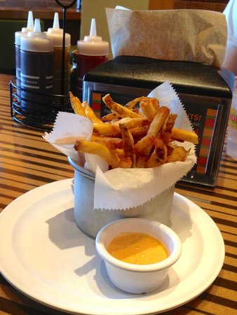 Bobby's Burger Palace: Fries.... a little on the salty side