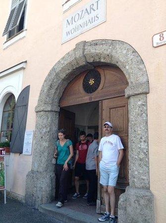 Mozart Residence (Mozart Wohnhaus): entrance