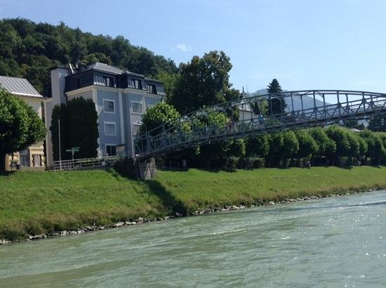 Salzach River Boat Cruises: view from boat