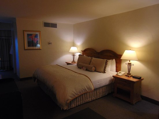Ramada Las Cruces Hotel and Conference Center : bedroom