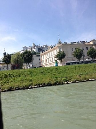 Salzach River Boat Cruises: another view from boat