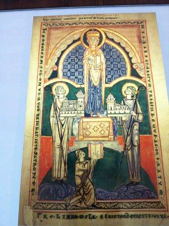 Abbaye Notre-Dame de Cîteaux : Saints Fondateurs: Offrande à Marie,Notre-Dame de Cîteaux.
