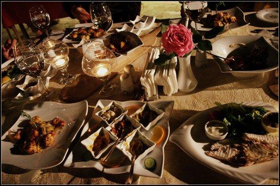 Gamirasu Cave Hotel: yummy food