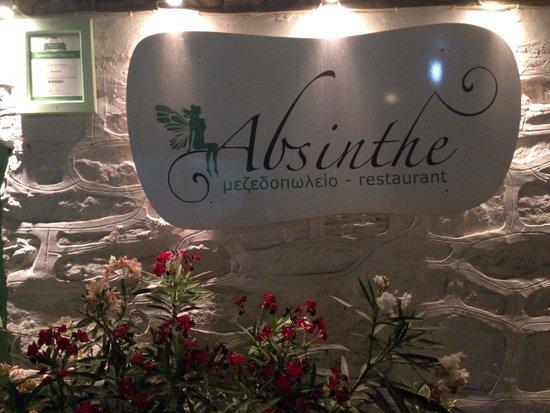 Restaurant l'Absinthe; Kamares; Sifnos