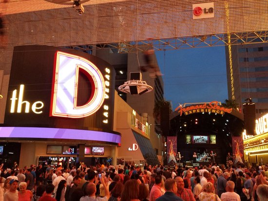 The D Casino Hotel Las Vegas: The D from Fremont Street