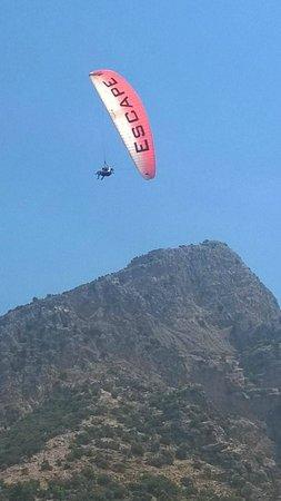 SENTIDO Lykia Resort & Spa: Yamaç Paraşütü