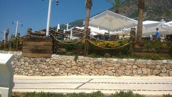 SENTIDO Lykia Resort & Spa: Plaj Restoran