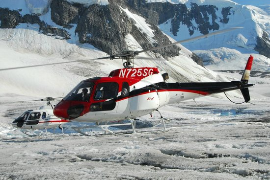 Closer To Landing  Picture Of Era Helicopters Denali National Park And Pre