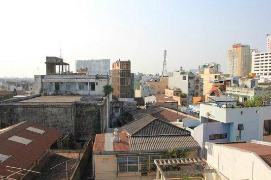 Yellow House Saigon Hotel : Blick aus dem Fenster