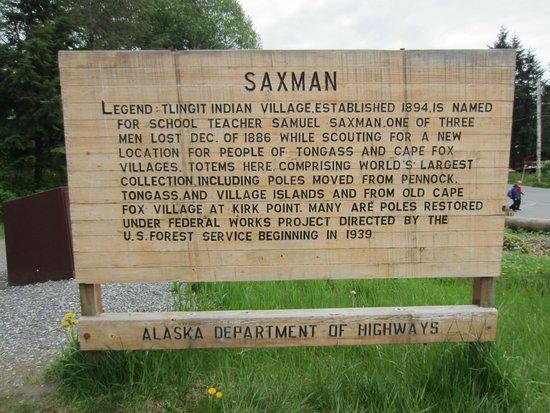 Saxman Native Village : A little history of Saxman