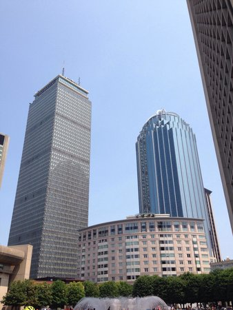 Urban AdvenTours: Prudential building, another stop on the tour.