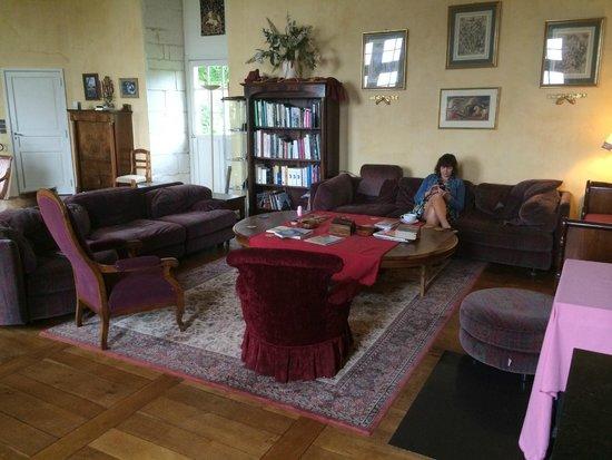 Chateau de la Motte : Castle Lounge