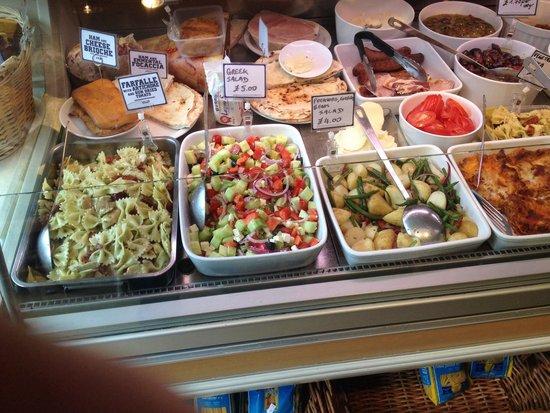 Oregano Deli Cafe: Oregano display