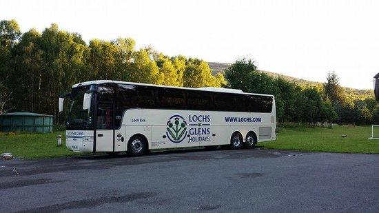 Loch Tummel Hotel: Coach