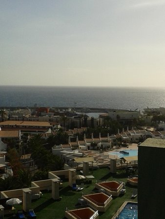 Hotel Villa de Adeje Beach: view from room 810