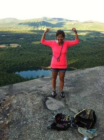 After climbing, hiking, shopping or biking, the Cranmore Inn is tops!