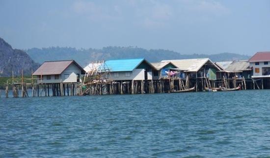 Koh Panyi (Floating Muslim Village): fishing Village