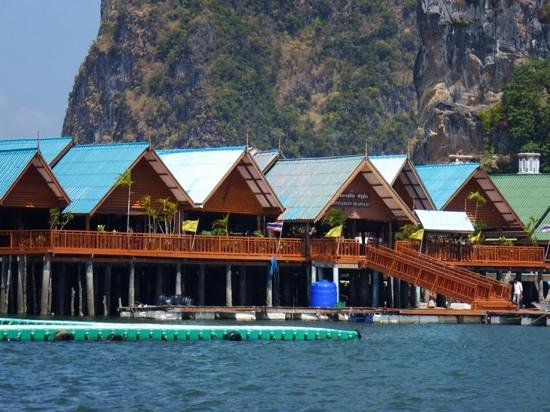food preparation area - Picture of Koh Panyi (Floating Muslim Village), Krabi...