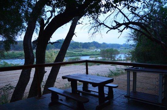 Bushriver Lodge: the view