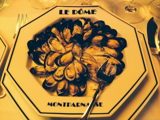 Le Dome: Best mussels ever