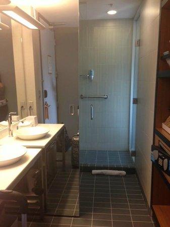 Aloft Montreal Airport : Bathroom