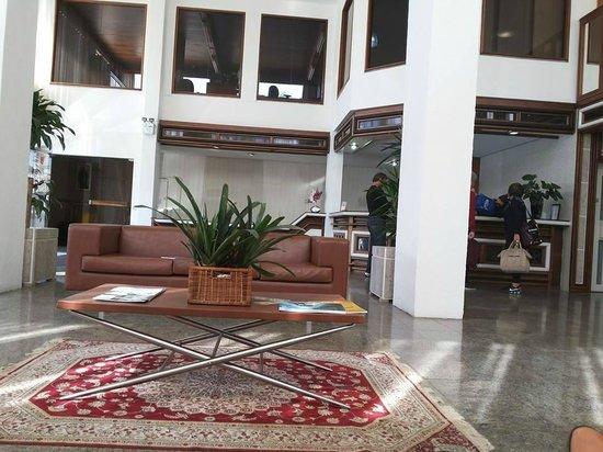 Hotel Geranium : Hall de entrada