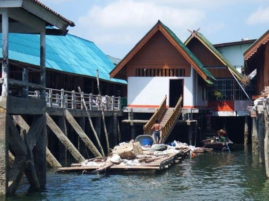 fishing Village - Picture of Koh Panyi (Floating Muslim Village), Krabi Town ...
