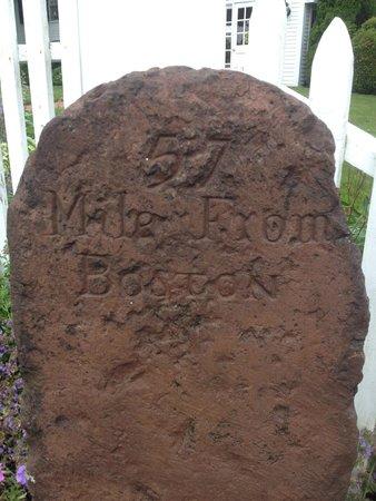 Spencer Country Inn: Ben Frankin Postal Marking